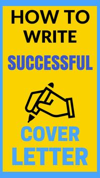 How To Write A Cover Letter 2018 poster