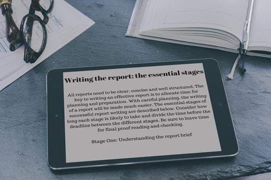 How to Write Report Correctly screenshot 3