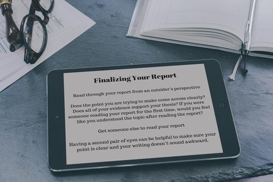 How to Write Report Correctly screenshot 2