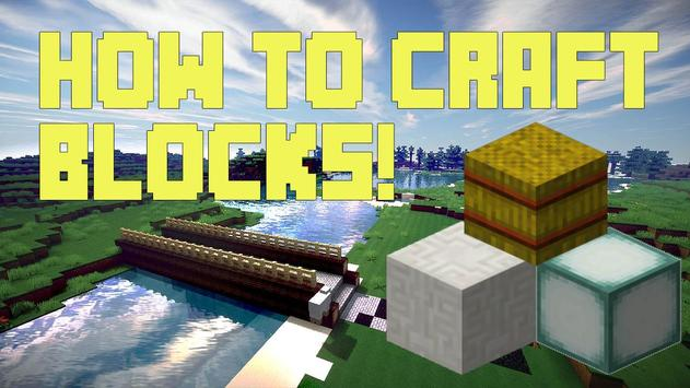 How to craft:Blocks 2 poster