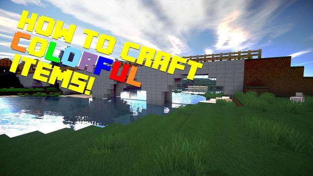 How to craft: Dye apk screenshot