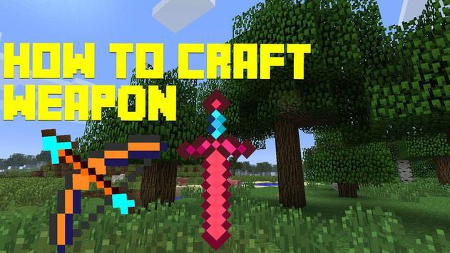 How to craft: Weapon apk screenshot
