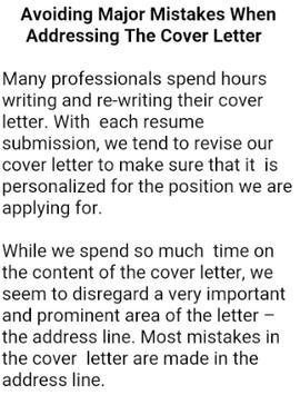 HOW TO WRITE A CV screenshot 4
