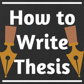 HOW TO WRITE A THESIS icon