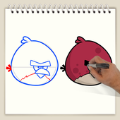 Drawing Lesson Angry Birds ikona
