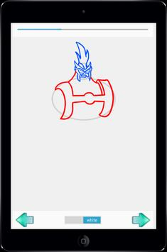 Learn to Draw Ban 10 apk screenshot