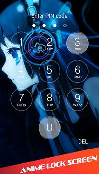 Anime Lock Screen Wallpaper Poster