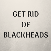 HOW TO GET RID OF BLACKHEADS icon