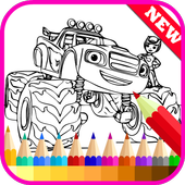 How to Draw Monster Truck Fans icon