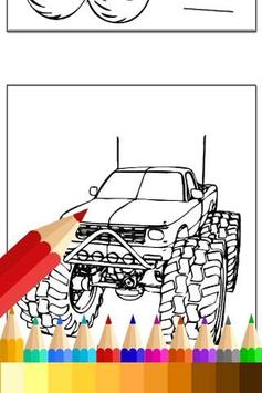 How to Draw Monster Truck Fans apk screenshot