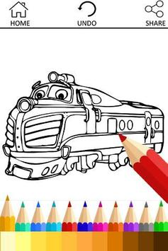 How to Draw for Chugging train poster