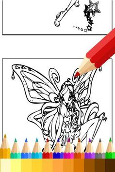 How to Draw WinX Coloring Book poster