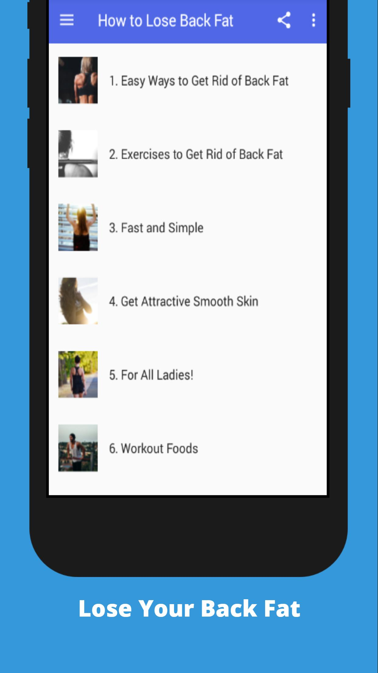 How To Lose Back Fat For Android Apk Download