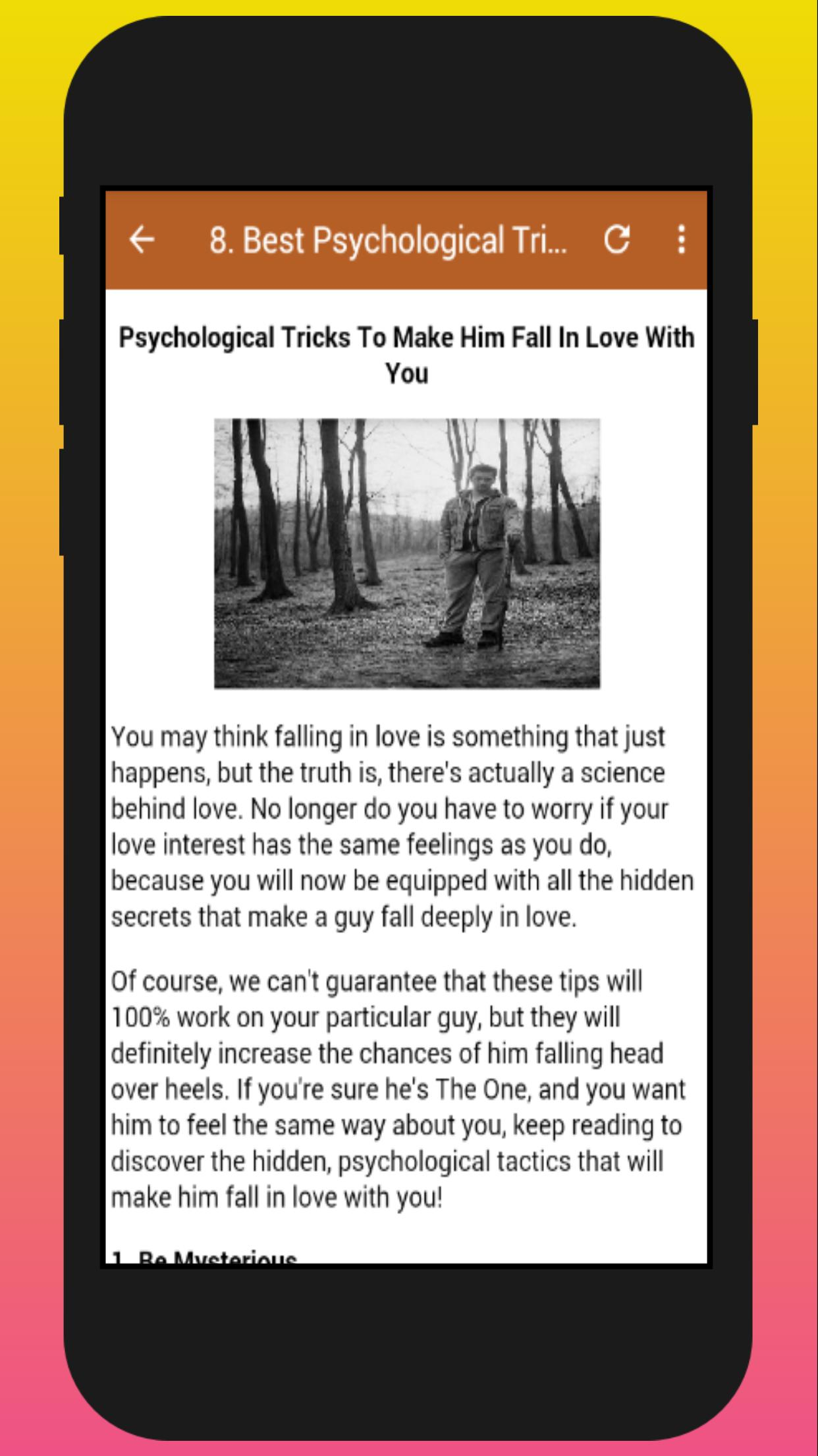 How To Make A Guy Like You for Android - APK Download
