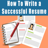 How to write a resume 2017 icon