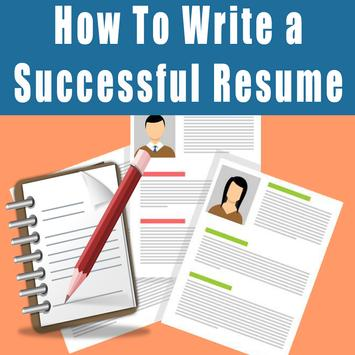 How to write a resume 2017 poster