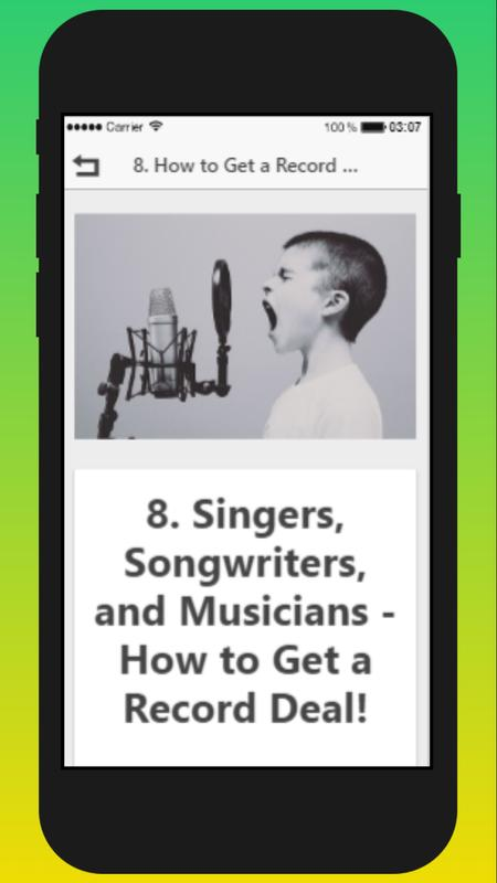 i want to learn how to sing for free