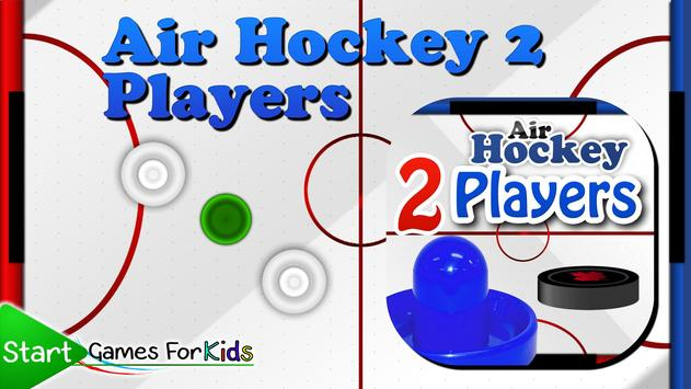 Air Hockey 2 Players poster