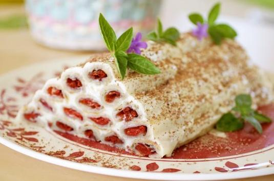 Recipes of cakes with photo step by step poster