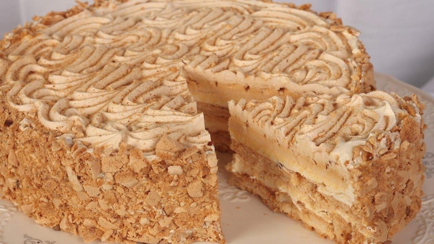 Как приготовить торт по киевски в домашних