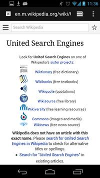 Hodol United Search Engines screenshot 3