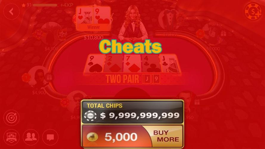 Poker friends cheat