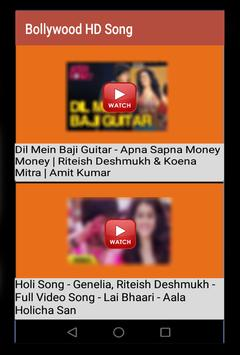 Bollywood HD Song poster