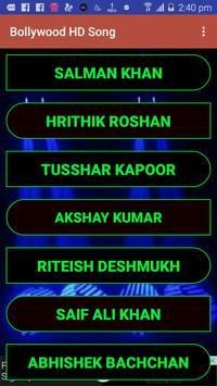 Bollywood HD Song screenshot 2
