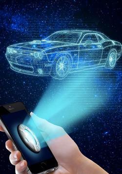 3d hologram camera simulator apk screenshot
