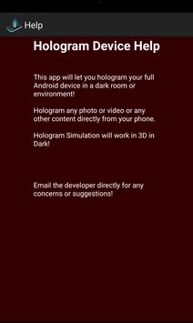 Hologram MyDevice Prank apk screenshot