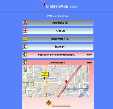 UmkreisApp screenshot 4