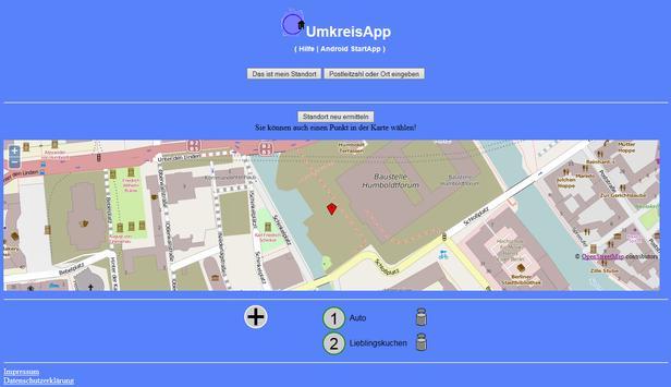 UmkreisApp screenshot 7