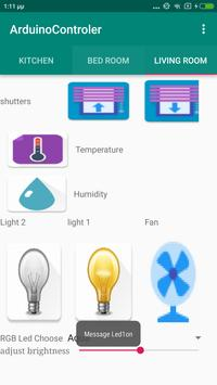 Home Automation with Arduino screenshot 4