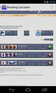 Guides for Monster Legends apk screenshot