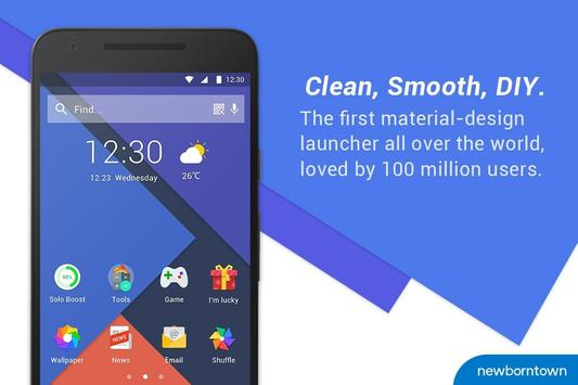 Solo Launcher-Clean,Smooth,DIY पोस्टर
