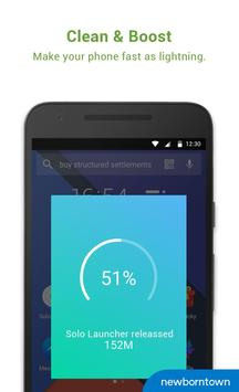Solo Launcher-Clean,Smooth,DIY apk zrzut ekranu