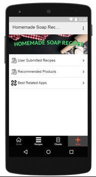 Homemade Soap Recipes screenshot 11