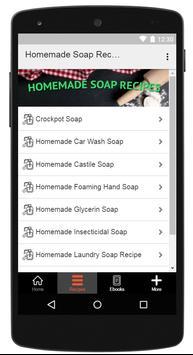 Homemade Soap Recipes screenshot 1