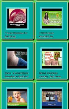 HomeRemedies apk screenshot