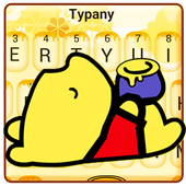 Cute Yellow Bear Keyboard Theme icon