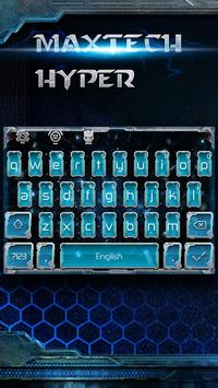 blue biochemical science keyboard tema screenshot 1