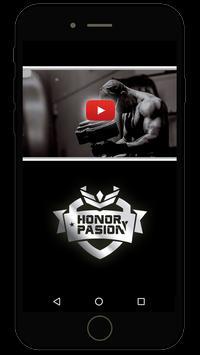 Honor y pasión poster