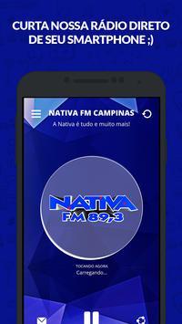 Nativa FM Campinas poster