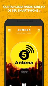Rádio Antena 5 poster