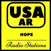 Hope Arkansas USA Radio Stations online icon