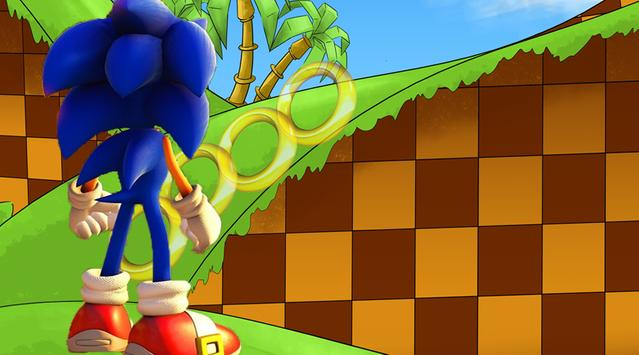 Subway Sonic Run Game screenshot 1