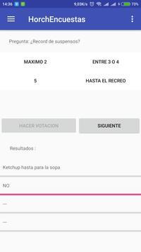 HorchEncuestas screenshot 3