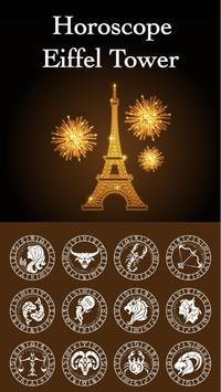 Eiffel - Tower Horoscope Theme poster