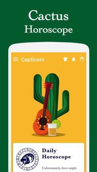 Horoscope Cactus Theme apk screenshot