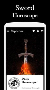Horoscope Sword Theme apk screenshot